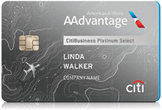 CitiBusiness® / AAdvantage® Platinum Select® Mastercard®