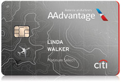 Citi® / AAdvantage® Platinum Select® card