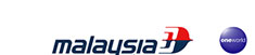 Malaysia Airlines and oneworld logos